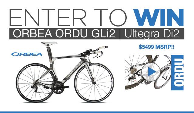 Enter to WIN 2013 Orbea Ordu GLi2