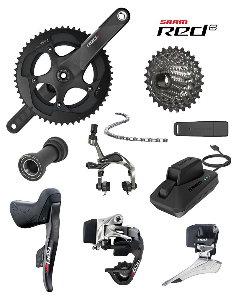 SRAM RED eTap Wireless groupset