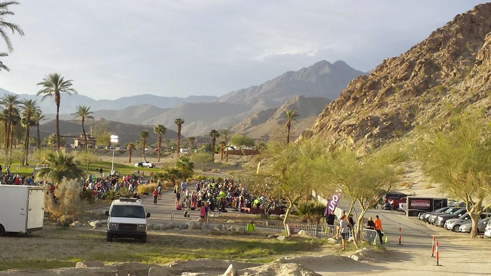 Desert Tri race