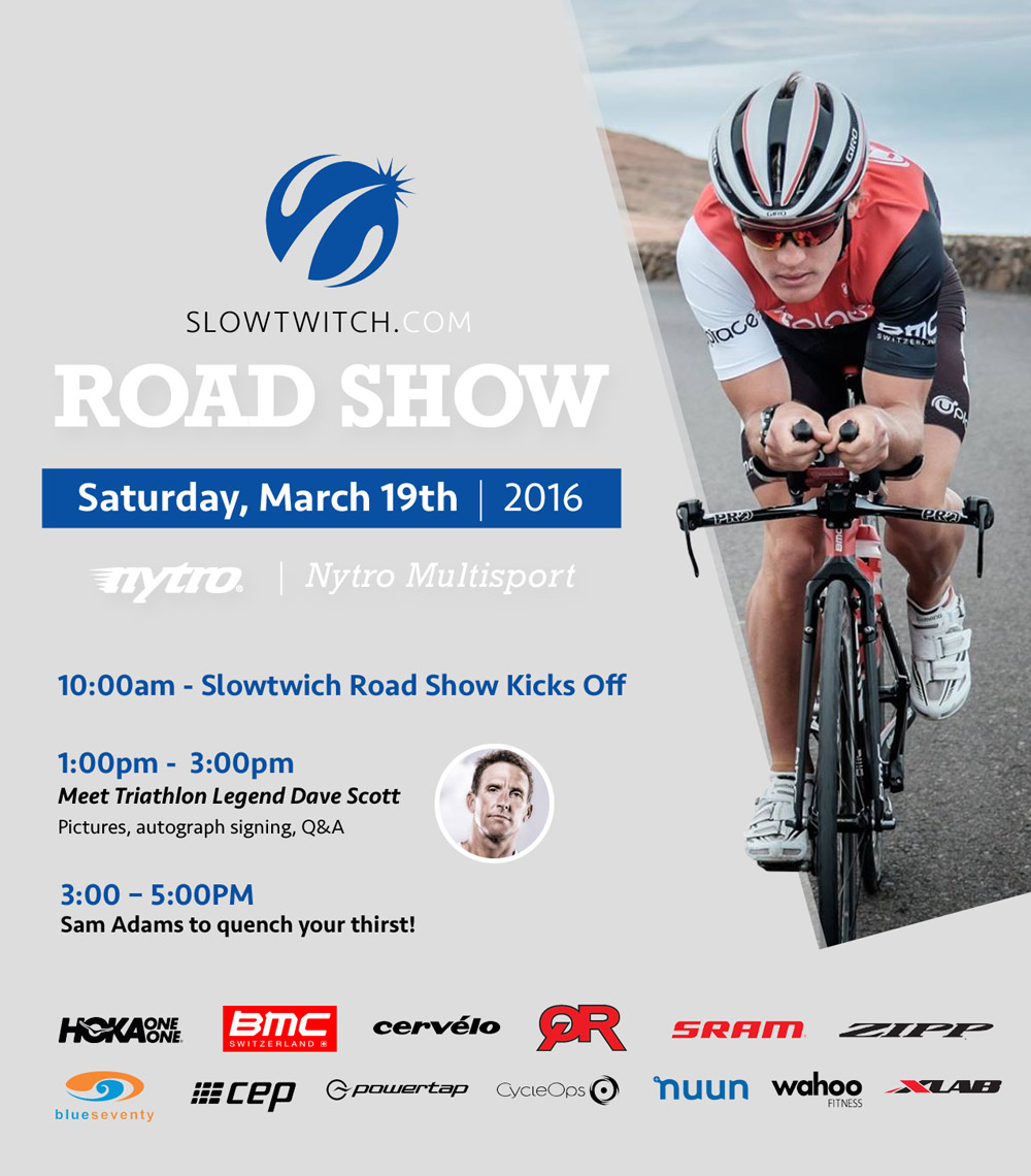 Slowtwitch Road Show at Nytro
